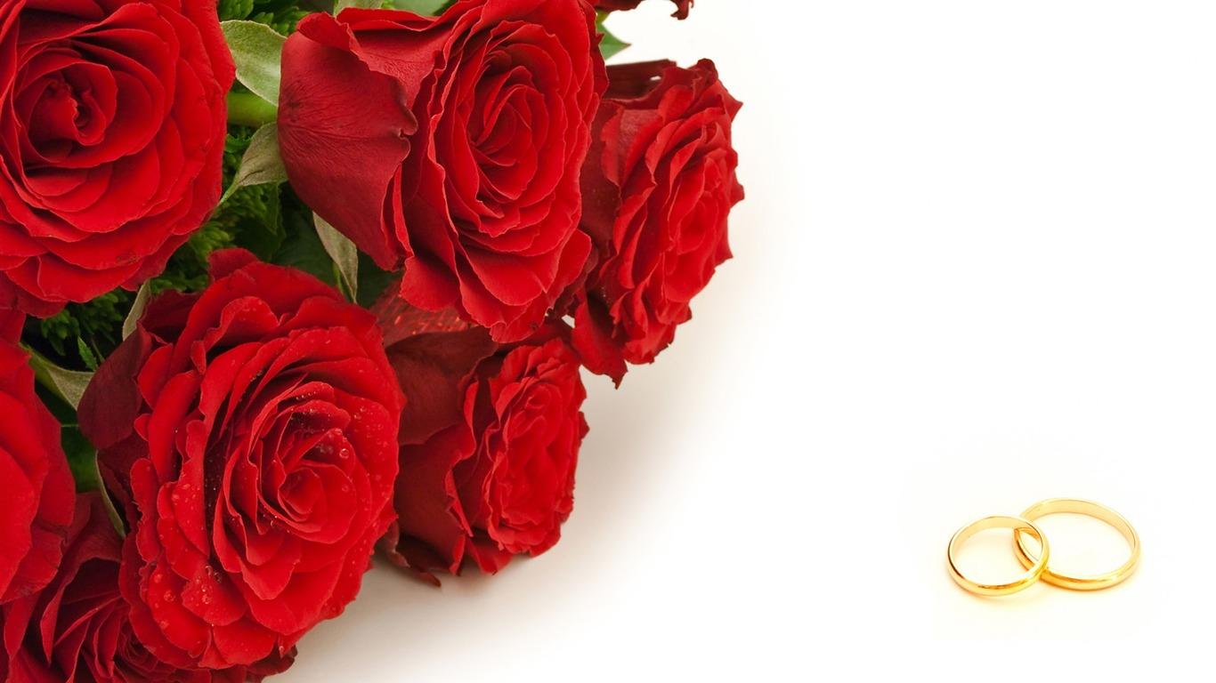 Mariage Fond D écran Hd Télécharger: Mariage Et Papier Peint Anneau De Mariage (2) #5