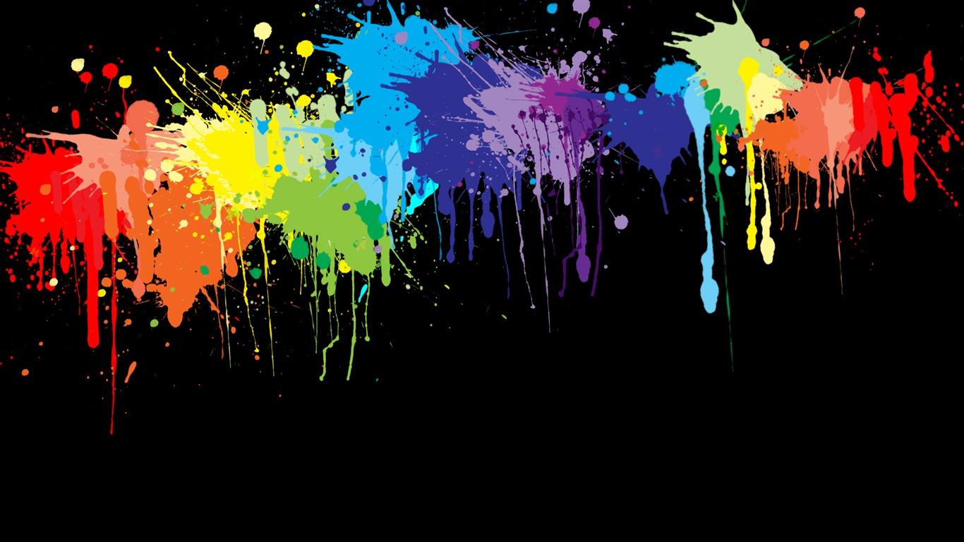 Color Explosion — яркие обои для рабочего стола | 768x1366