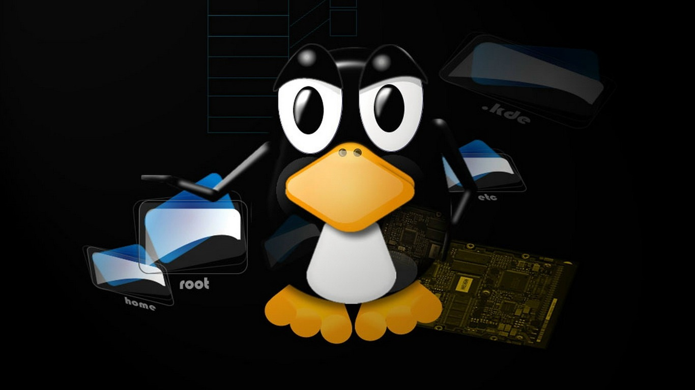 Linux wallpaper (2) #4 - 1366x768.