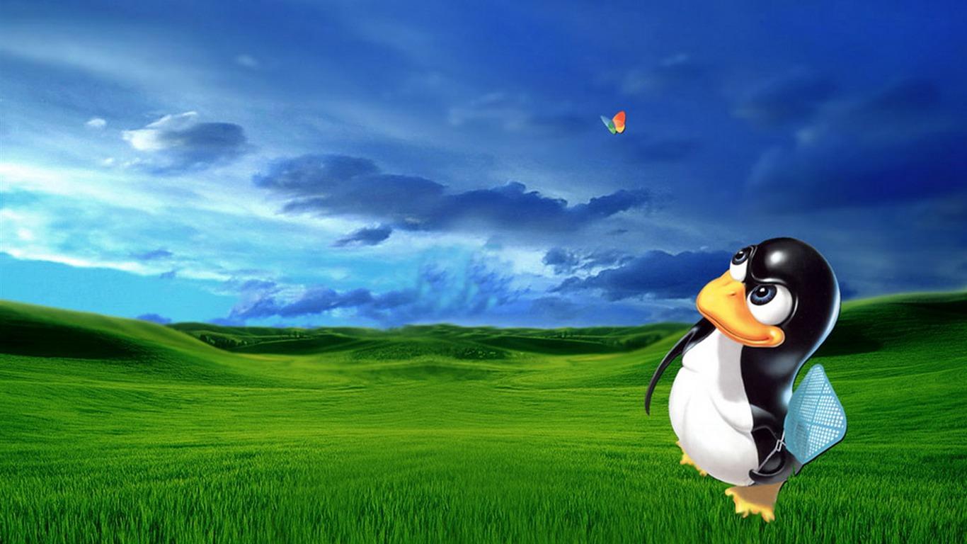 Linux wallpaper (2) #5 - 1366x768.
