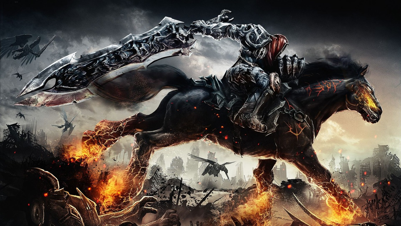 darksiders: wrath of war hd wallpaper #5 - 1366x768 wallpaper