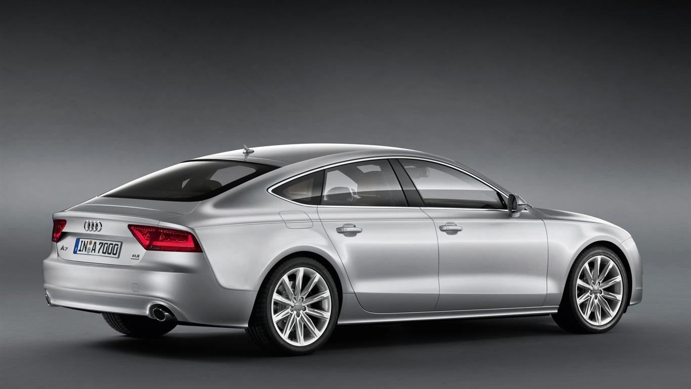 Audi A7 Sportback 3.0 TDI quattro - 2010 HD Wallpaper #16 - 1366x768 ...