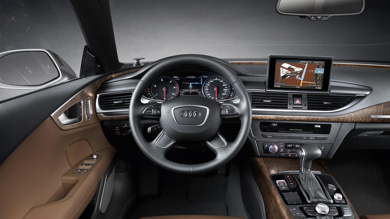 Audi A7 Sportback 3.0 TDI quattro - 2010 奥迪27 - 1366x768 壁纸 ...
