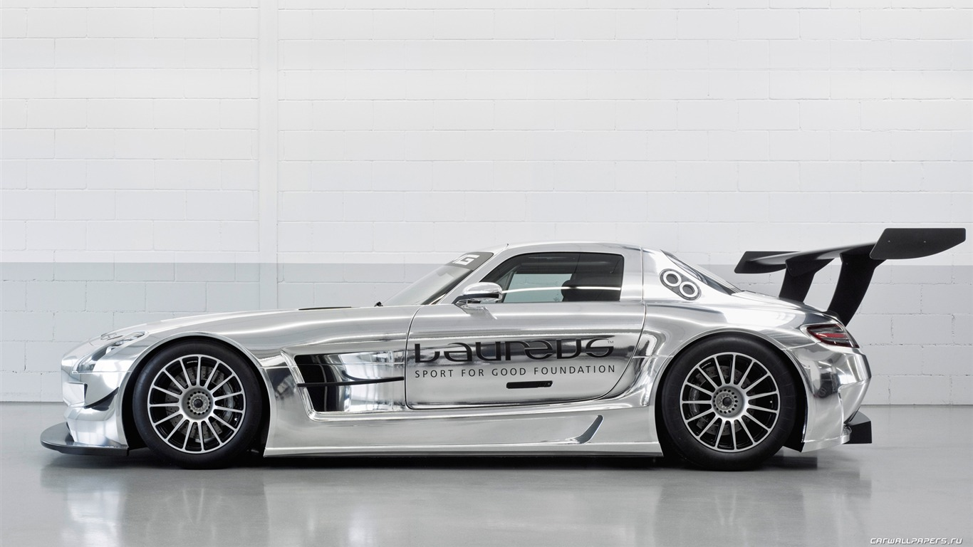 Mercedes Benz Sls Amg Gt3 2010 Fonds D 233 Cran Hd 4