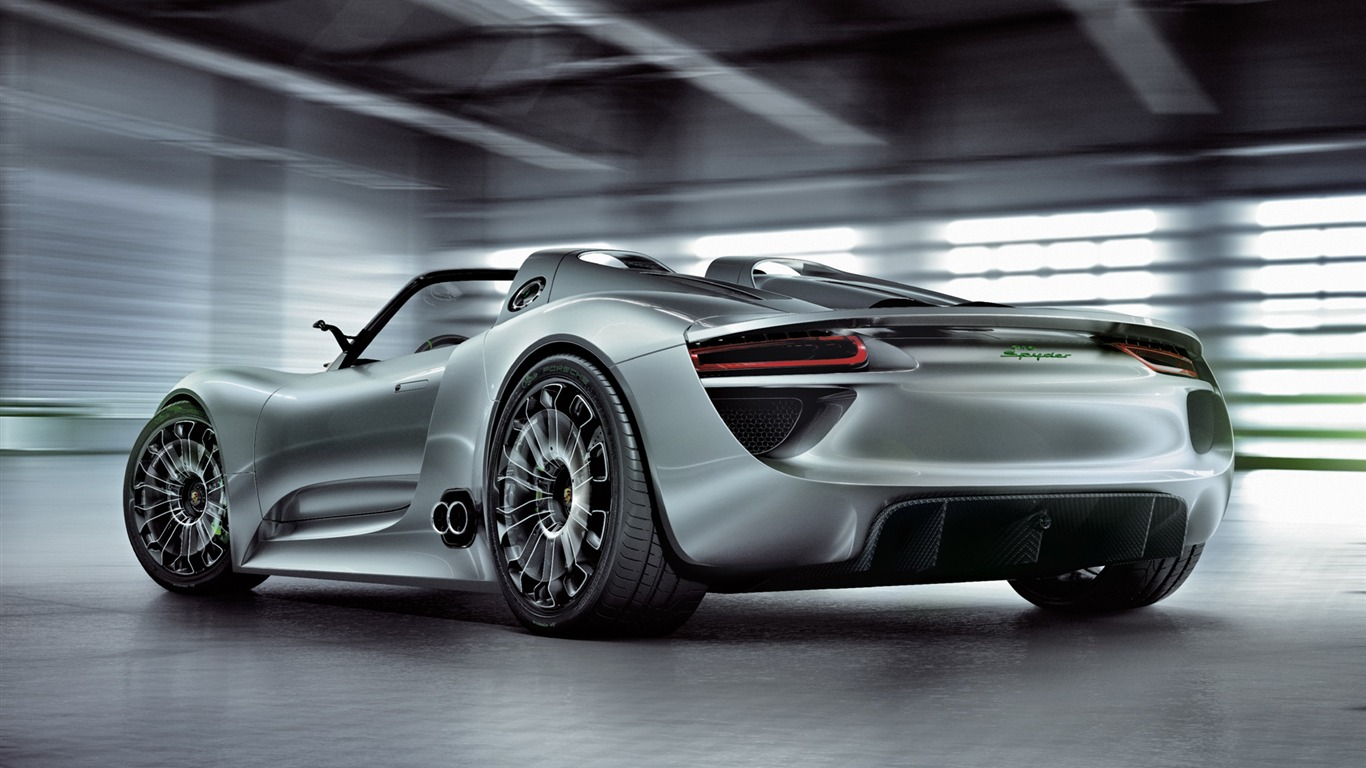 Concept Car Porsche 918 Spyder 2010 Hd Wallpaper 3