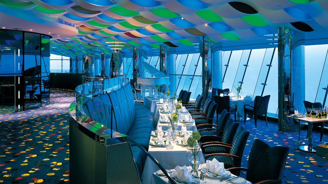 Sehr Sept étoiles hôtel Burj Dubai fonds d'écran #7 - 1366x768 Fond d  SN75
