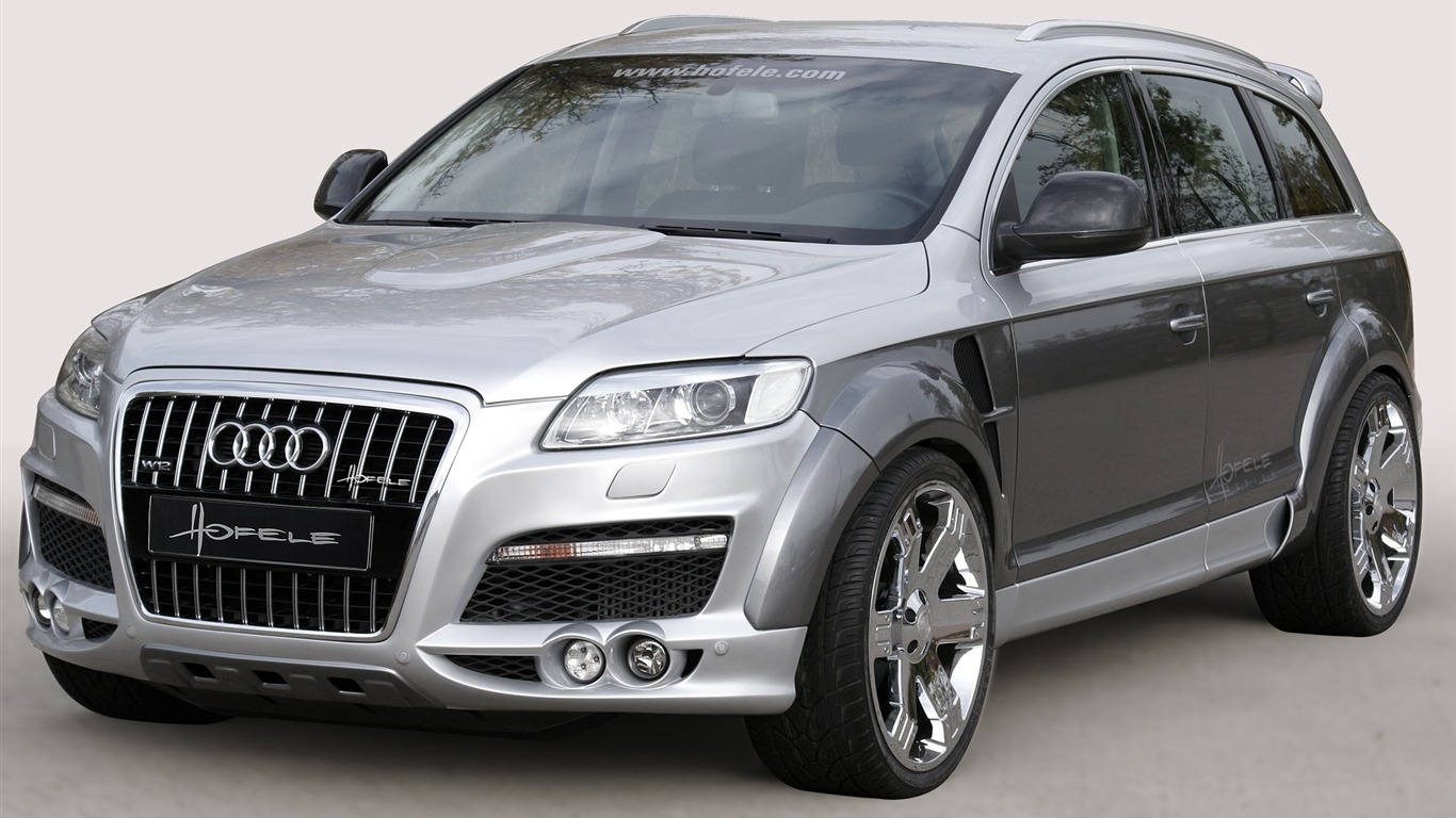 Hofele Audi Q7 Hd Wallpaper 11 1366x768 Wallpaper