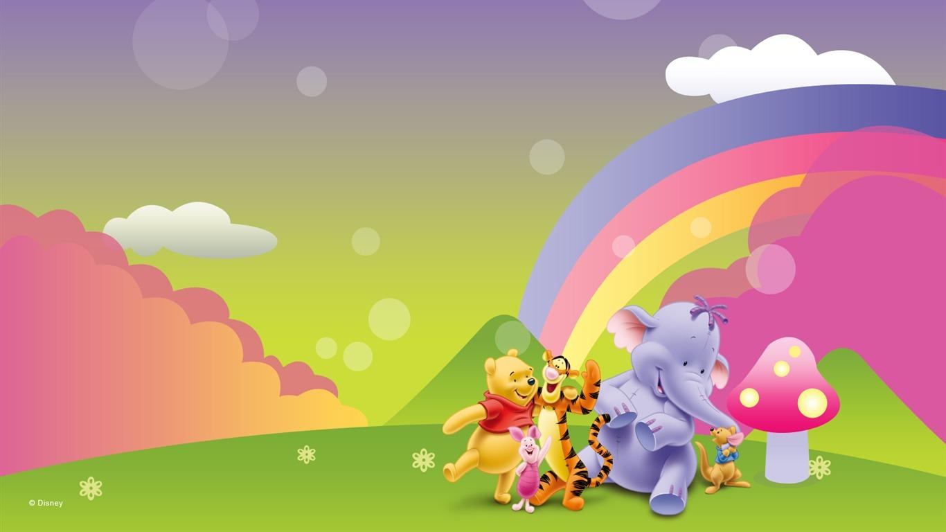 Walt Disney cartoon Winnie the Pooh wallpaper 1 23  1366x768