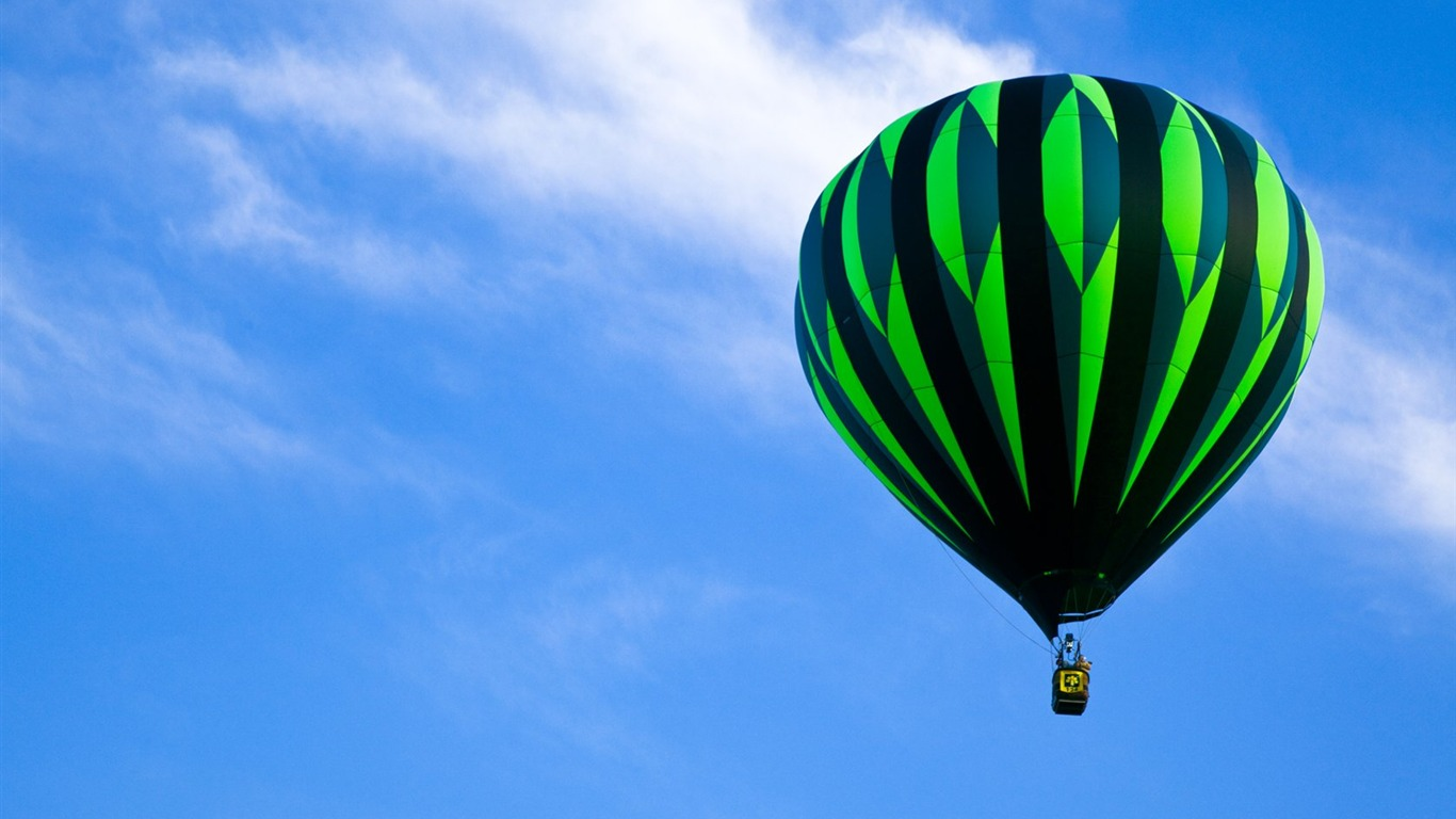 colorful hot air balloons wallpaper 1 2 1366x768