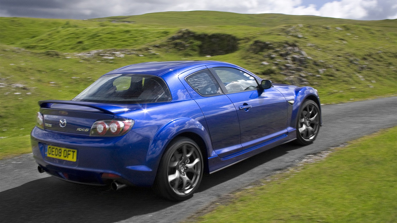 Mazda Rx 8 Uk Version 2008 Hd Wallpaper 8 1366x768