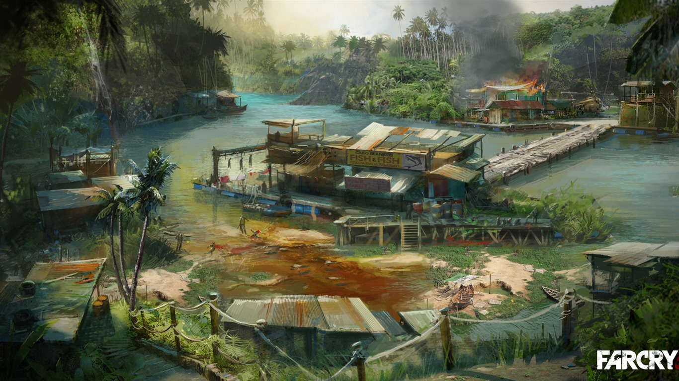 far cry 3 hd wallpapers 2 1366x768 wallpaper download