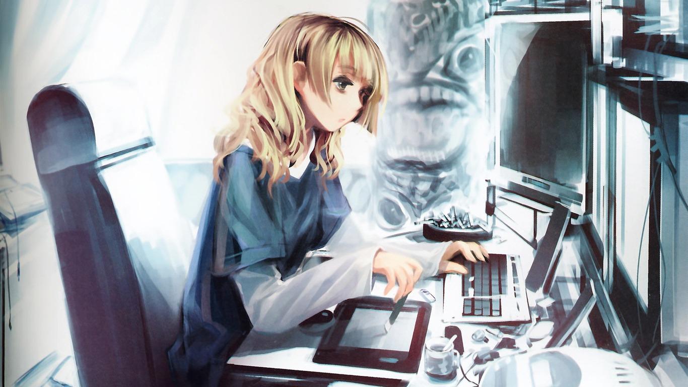 アニメの女の子hd壁紙 19 1366x768 壁紙ダウンロード アニメの女の子hd壁紙 アニメーション 壁紙 V3の壁紙