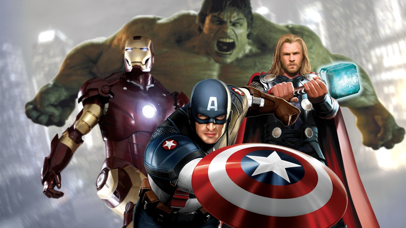 The Avengers 2012 Hd Wallpapers 2 1366x768 Wallpaper Download