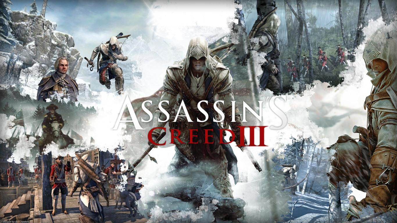assassins creed 3 hd wallpapers 14 1366x768 wallpaper