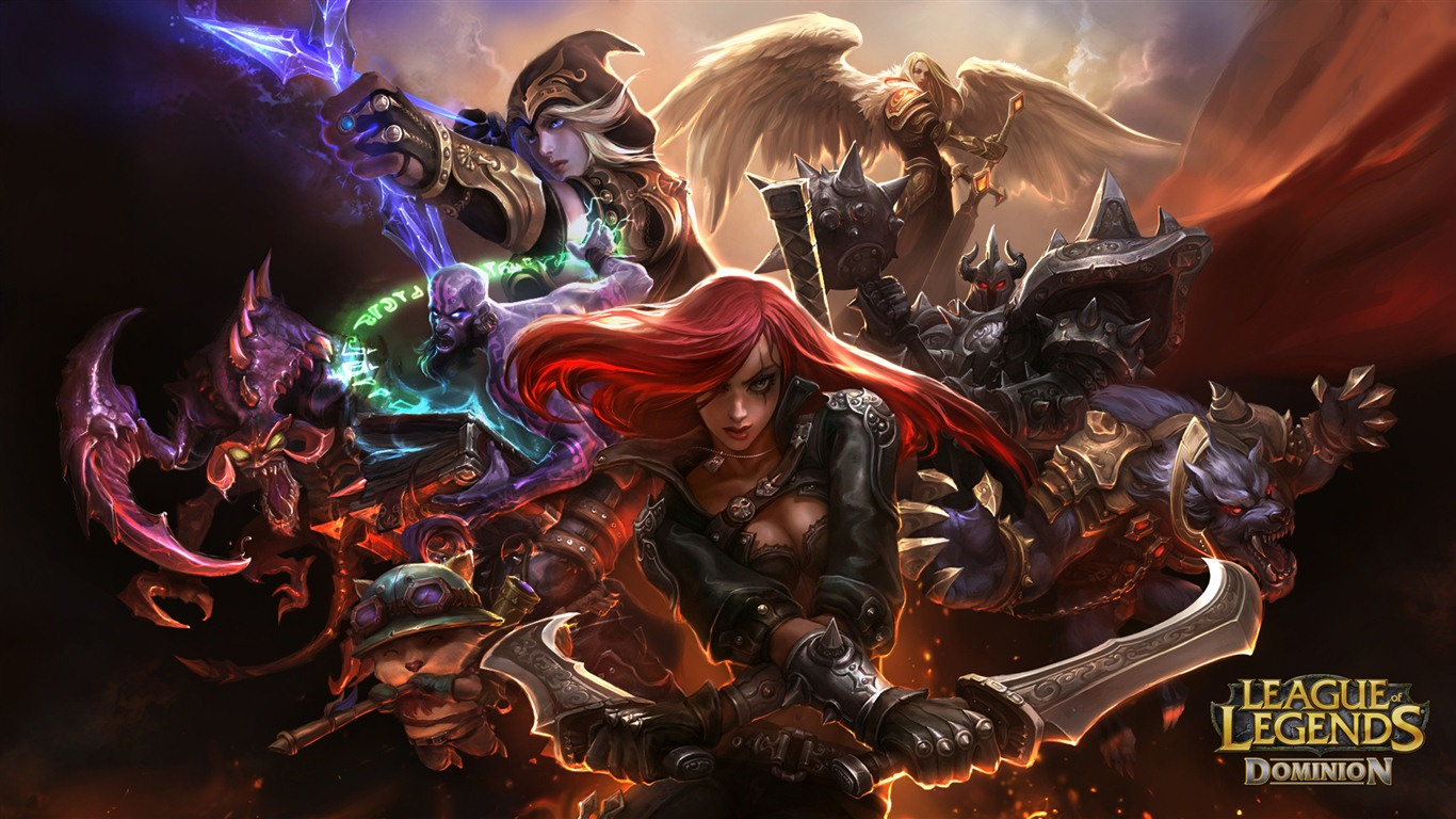 League Of Legends Game Hd Wallpapers 9 1366x768 Wallpaper