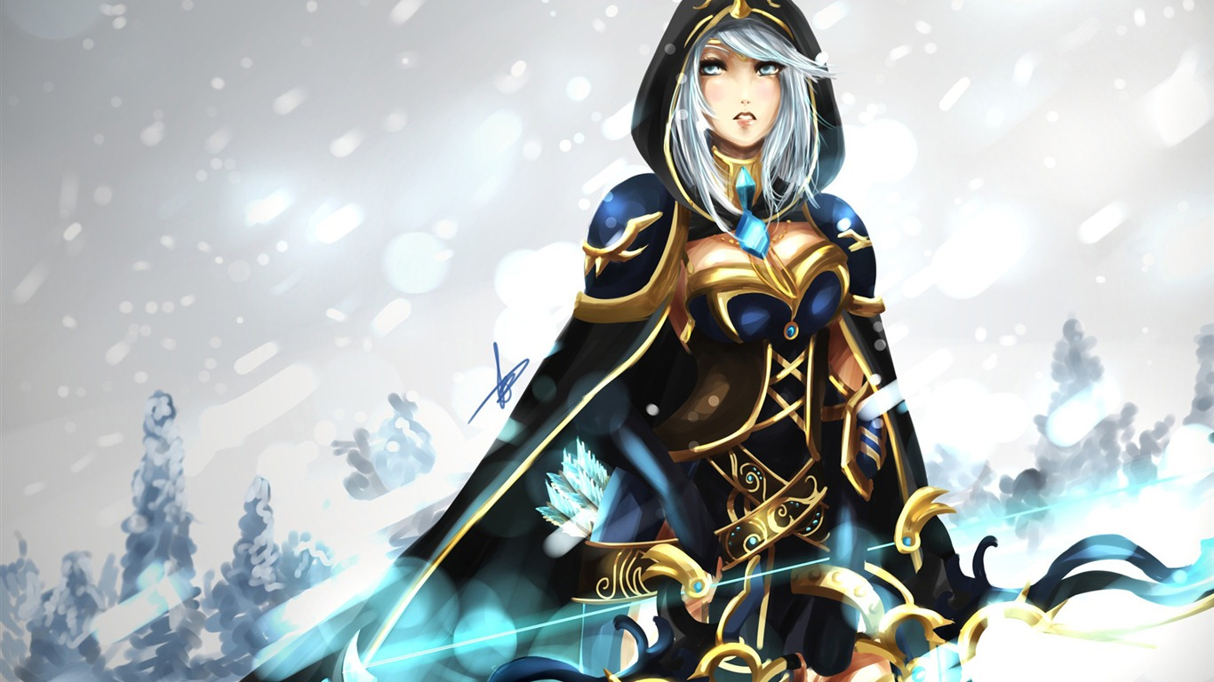 League Of Legends Beautiful Girl Wallpapers 1 1366x768