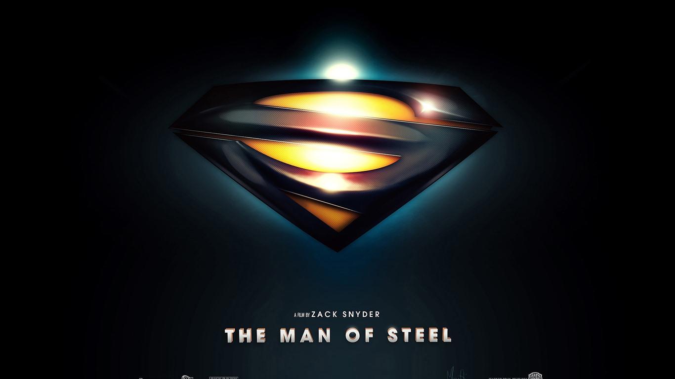 Superman Man Of Steel Hd Wallpapers 7 1366x768 Wallpaper