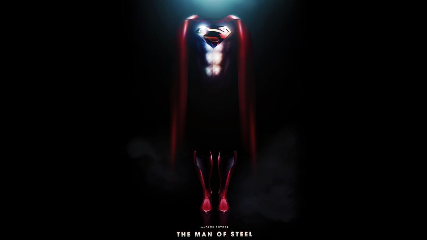 Superman Man Of Steel Hd Wallpapers 12 1366x768 Wallpaper