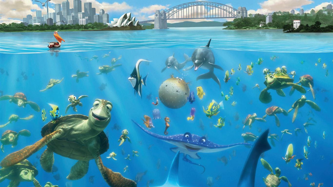 Finding Nemo 3d 2012 Hd Wallpapers 8 1366x768 Wallpaper