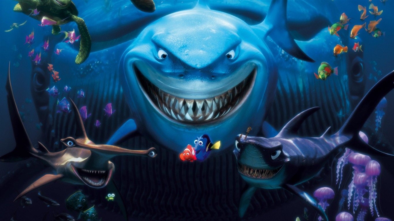 finding nemo 3d 2012 hd wallpapers #15 - 1366x768 wallpaper download