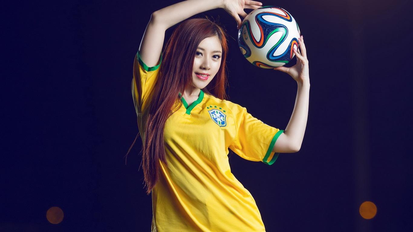 Soccer Girls Wallpaper Free: 32 World Cup Jerseys, Football Baby Beautiful Girls HD
