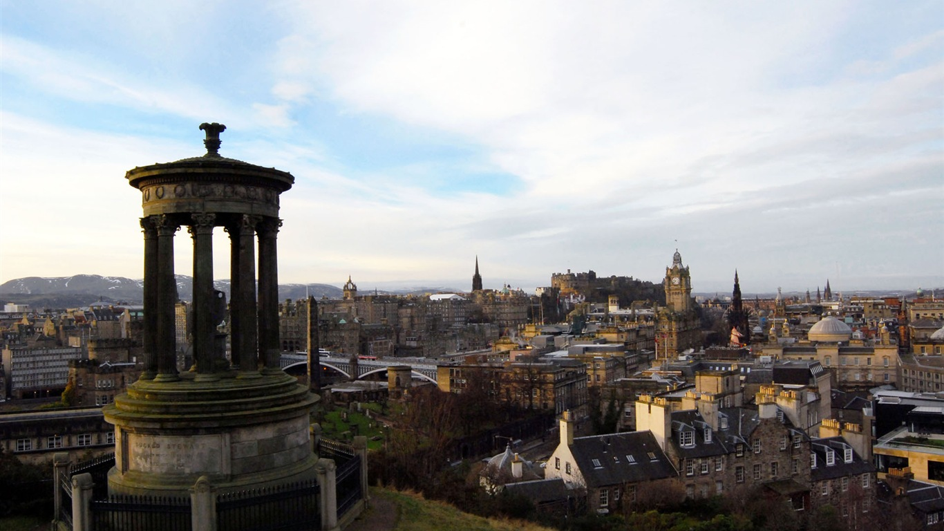 Beautiful City Of Edinburgh Scotland Hd Wallpapers 3