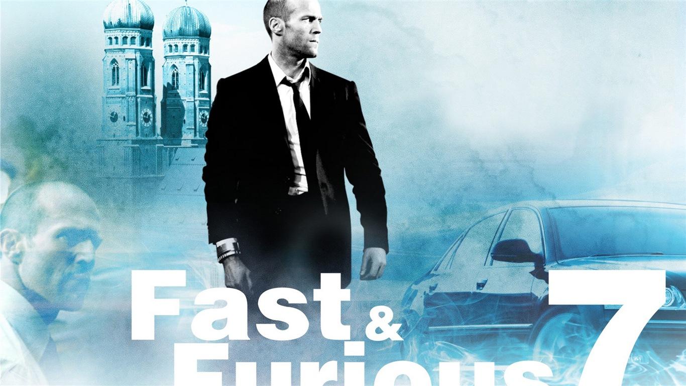速度与�9��ye$9..�)�f�x�_fast and furious 7 速度与激情7 高清影视壁纸17 - 1366x768