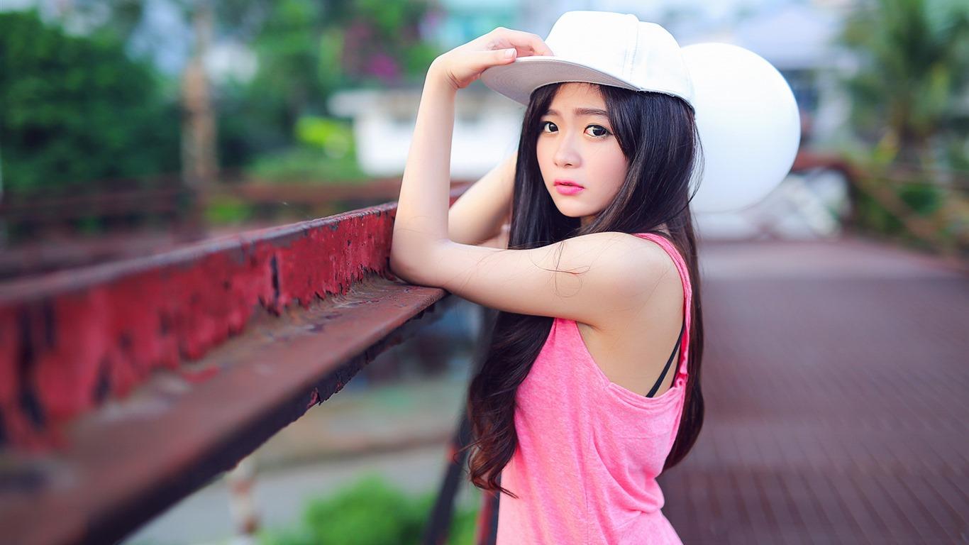 亚洲高清合集一区_清纯可爱年轻的亚洲女孩 高清壁纸合集(一)3 - 1366x768
