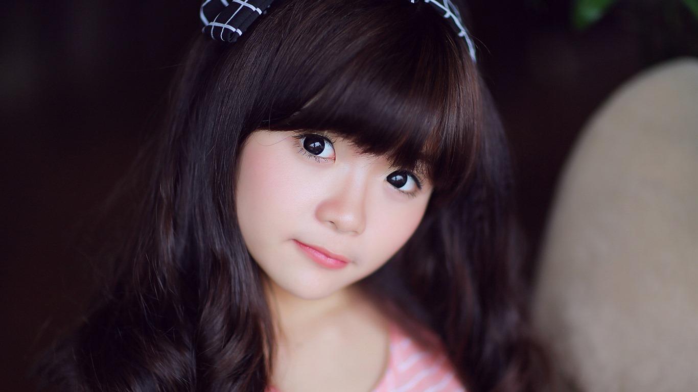 亚洲高清合集一区_清纯可爱年轻的亚洲女孩 高清壁纸合集(一)9 - 1366x768
