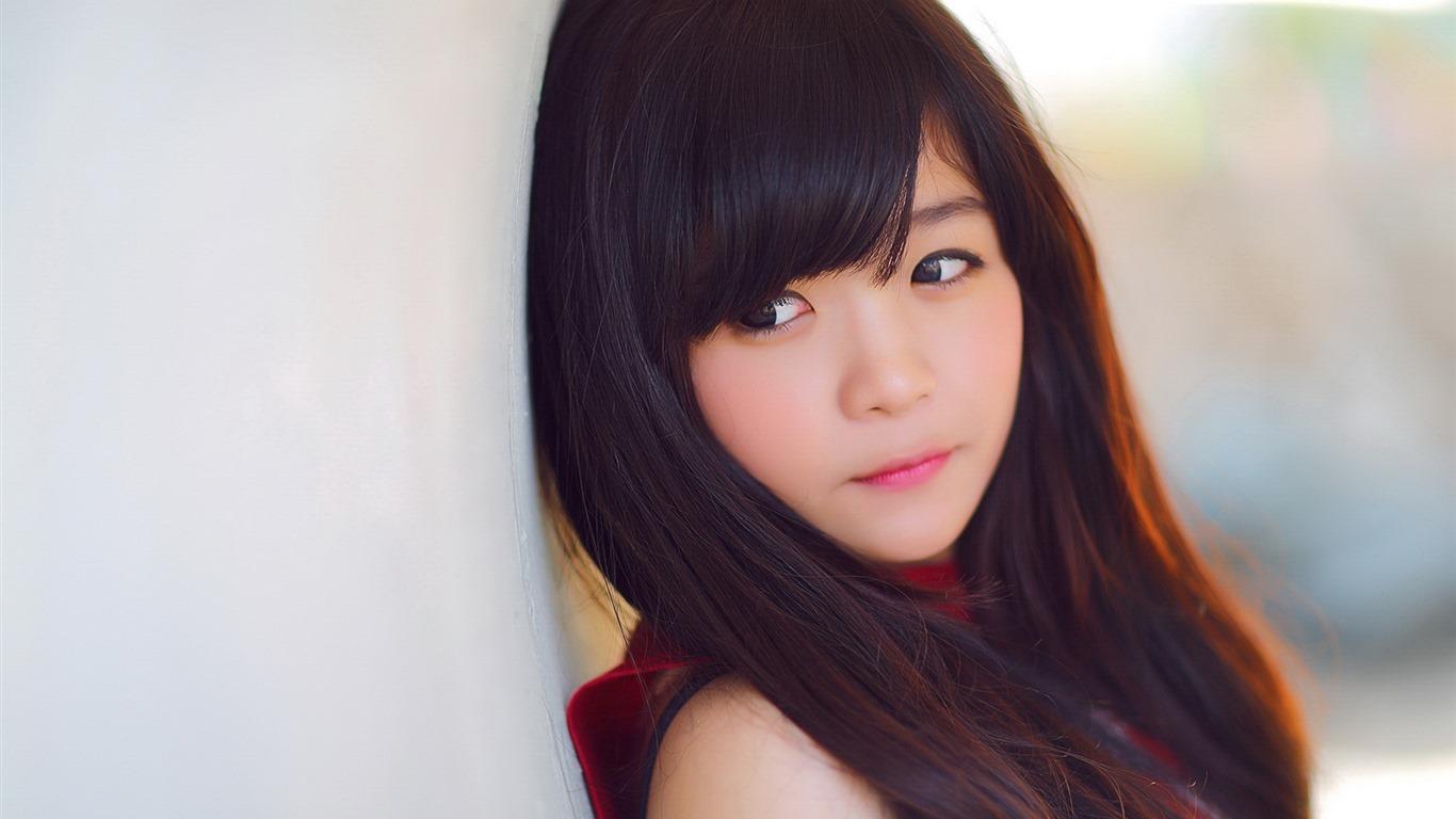 亚洲高清合集一区_清纯可爱年轻的亚洲女孩 高清壁纸合集(一)19 - 1366x