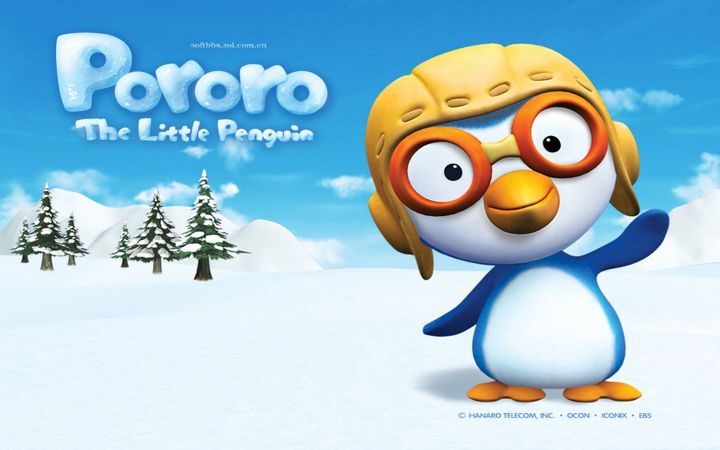 Cartoon pororo wallpaper image wallpaper collections pororo cartoon wallpapers 4 1440x900 wallpaper download image source from this altavistaventures Image collections