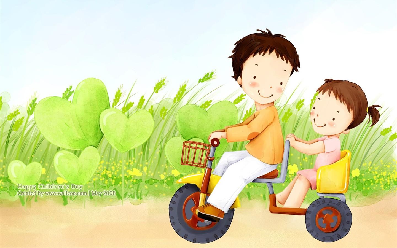 Description lovely children s day wallpaper illustrator 26