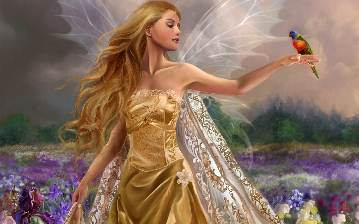 Beautiful Women Wallpaper Fantasy Illustrator 22 1440x900
