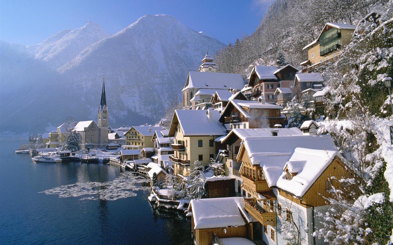オーストリア壁紙の美しい風景