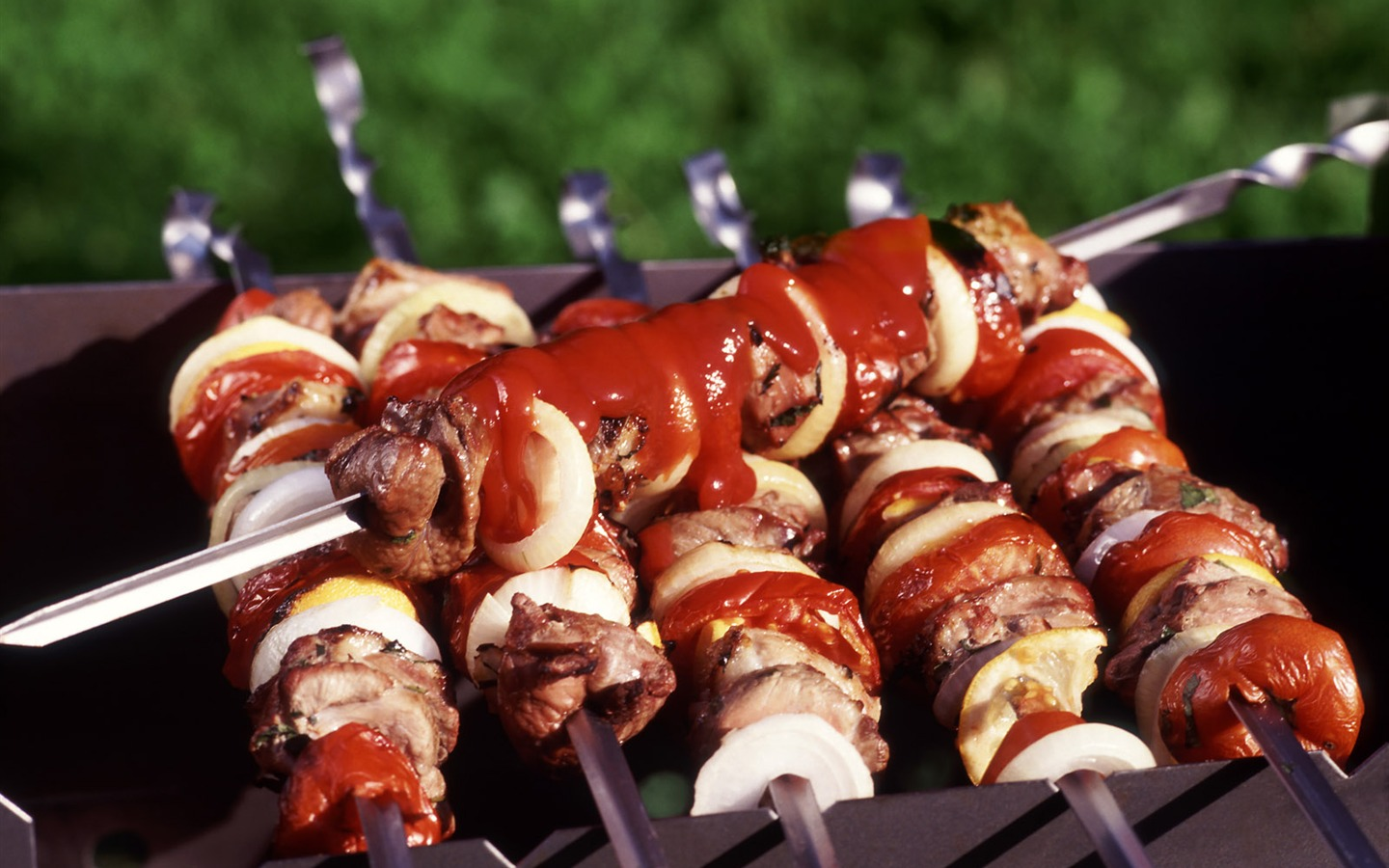 Delicious barbecue wallpaper (4) #9 - 1440x900