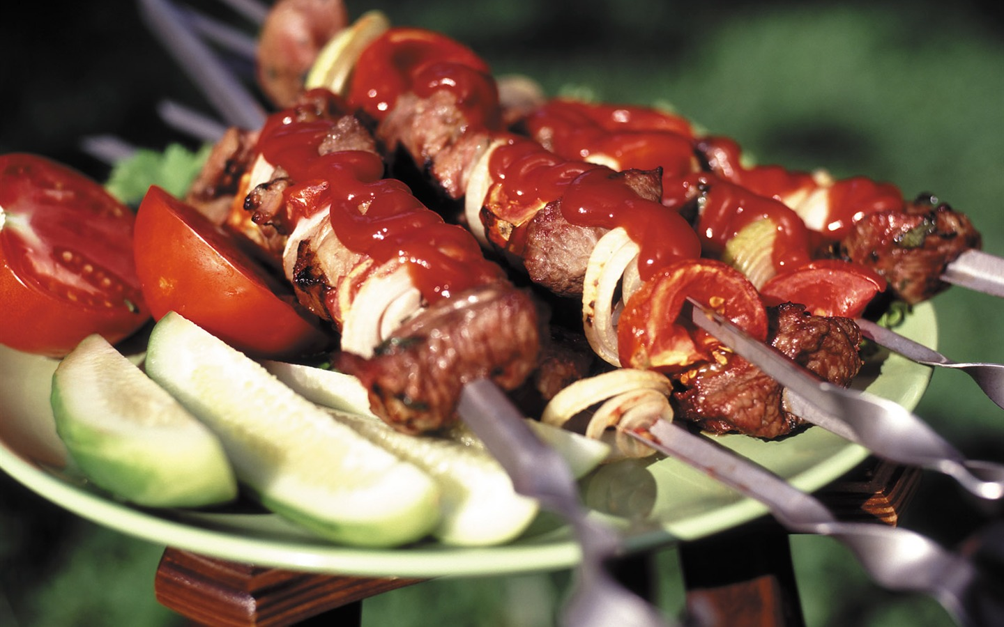 Delicious barbecue wallpaper (4) #14 - 1440x900
