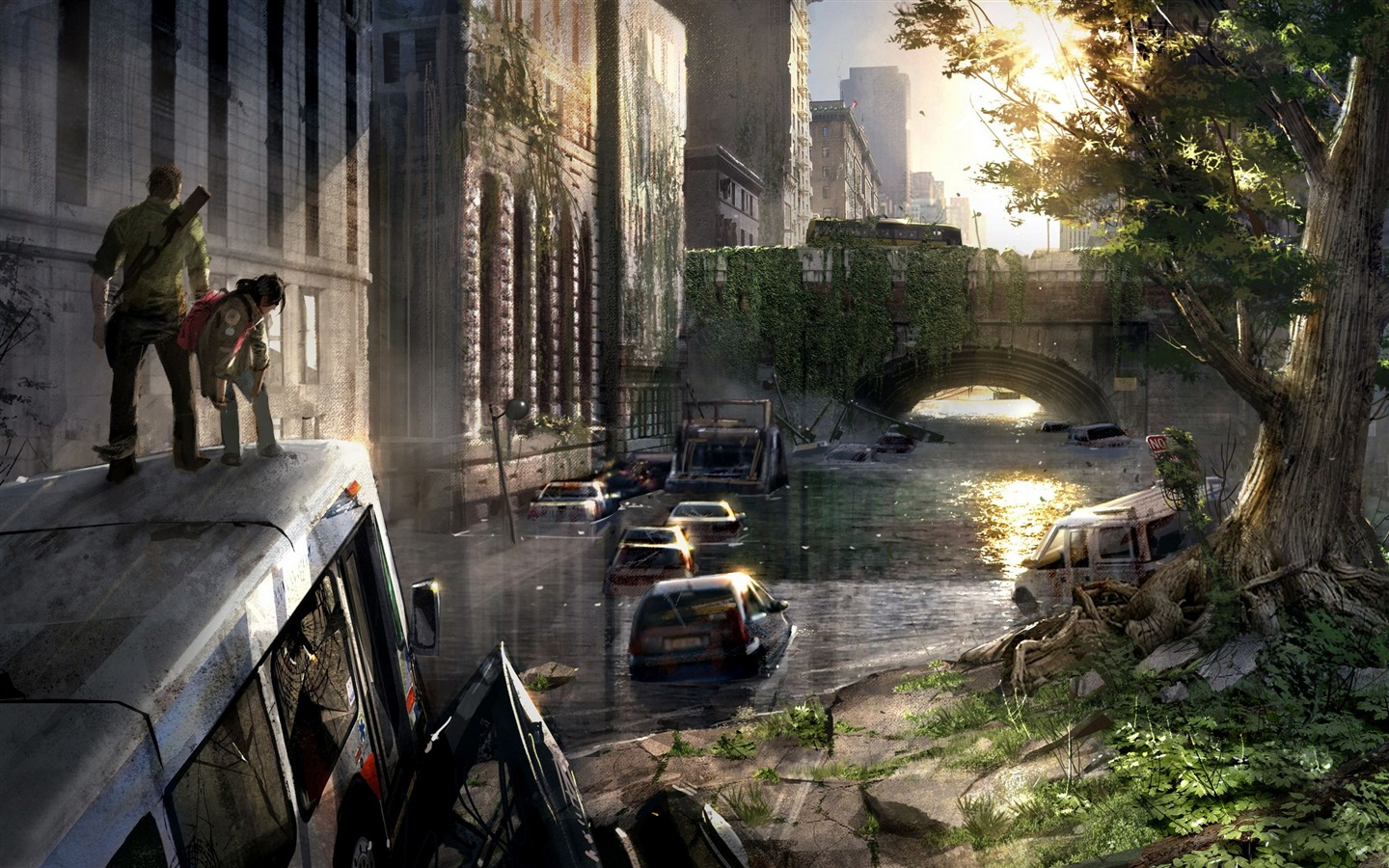 The Last of US HD game wallpapers #3 - 1440x900 Wallpaper