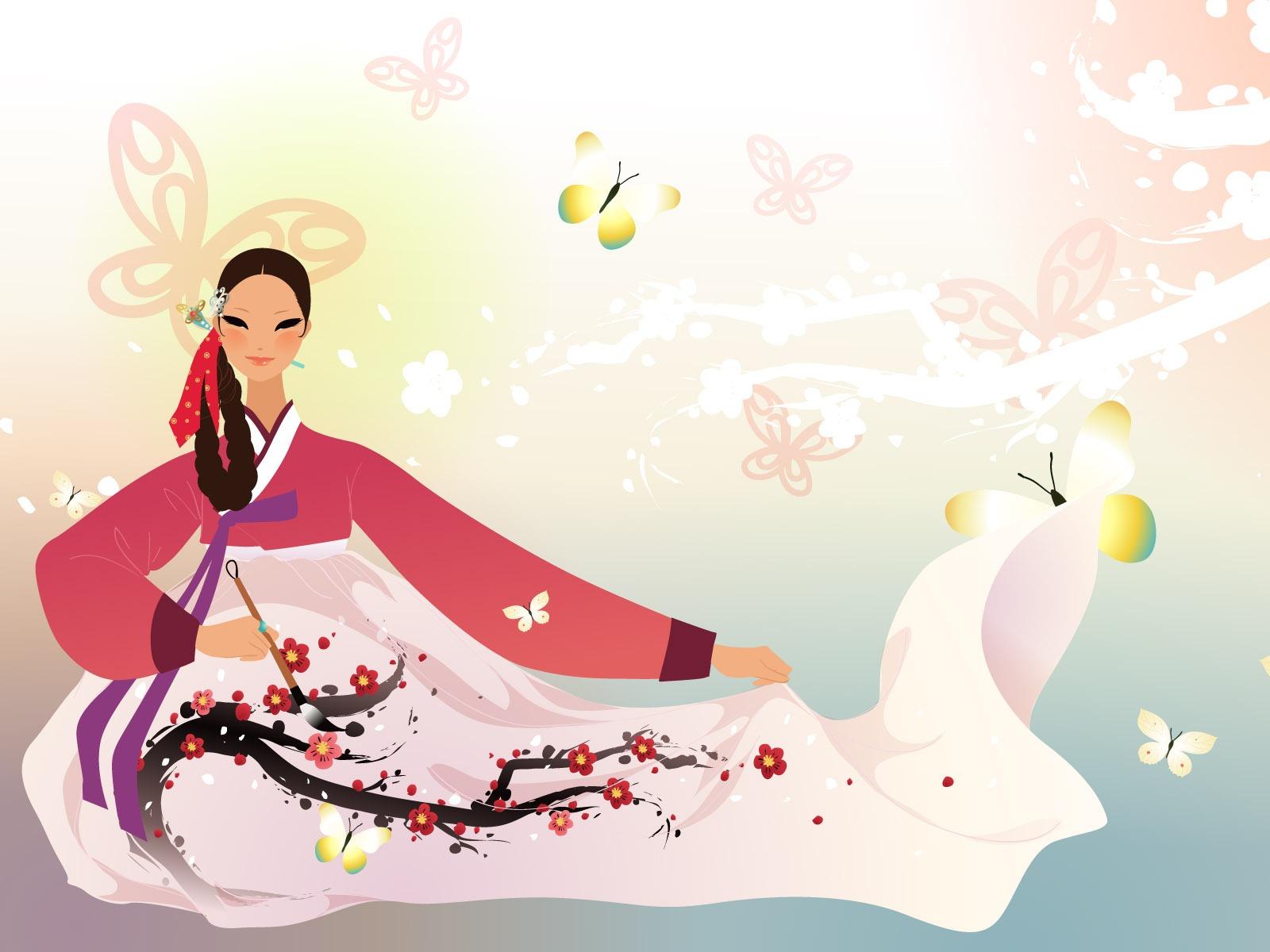 Vector wallpaper of korean women 2 19 1600x1200 wallpaper vector wallpaper of korean women 2 19 1600x1200 voltagebd Choice Image