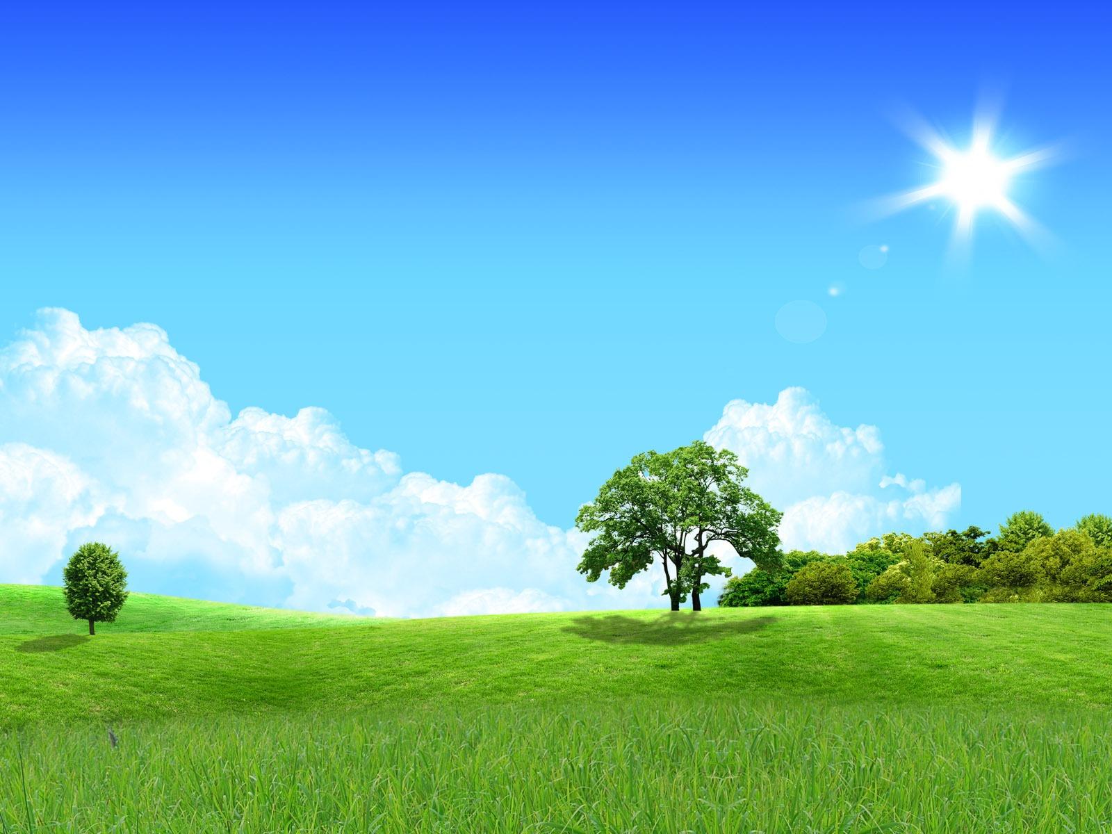 Photoshop fondos de escritorio de paisaje soleado de verano 1 17 1600x1200 fondos de - Fondos de escritorio verano ...