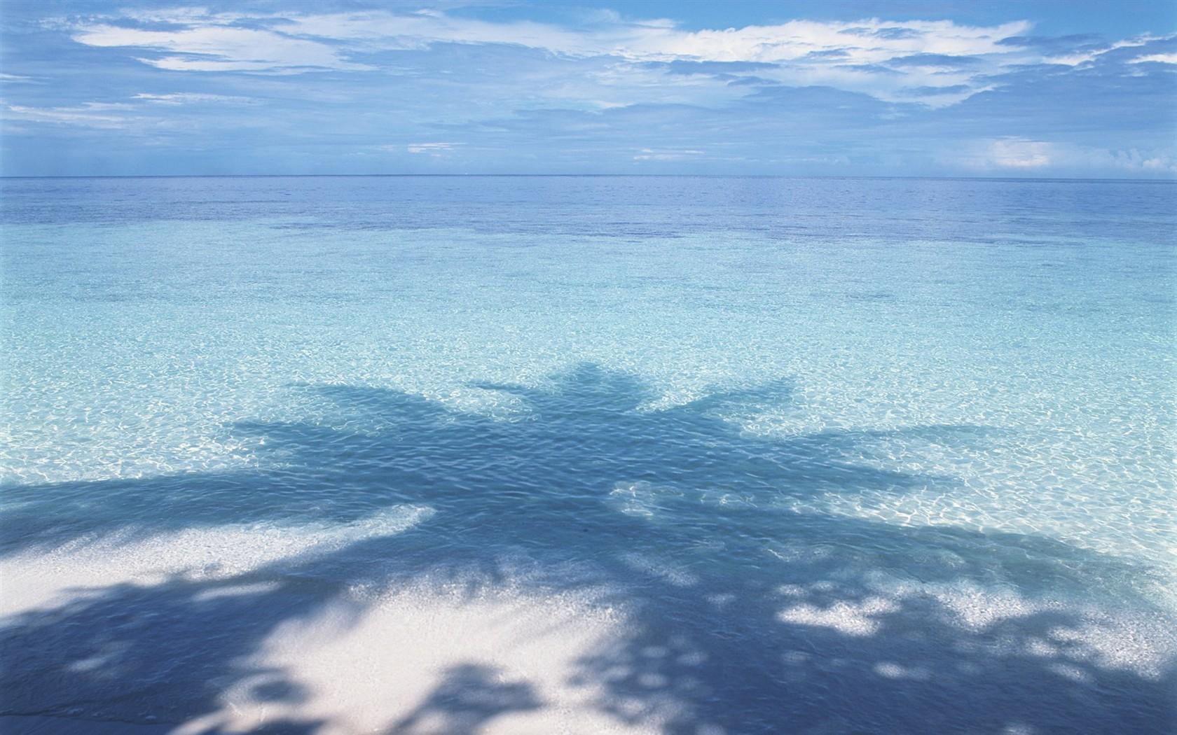 Blauer Himmel Wallpaper Wasser Und Blauer Himmel
