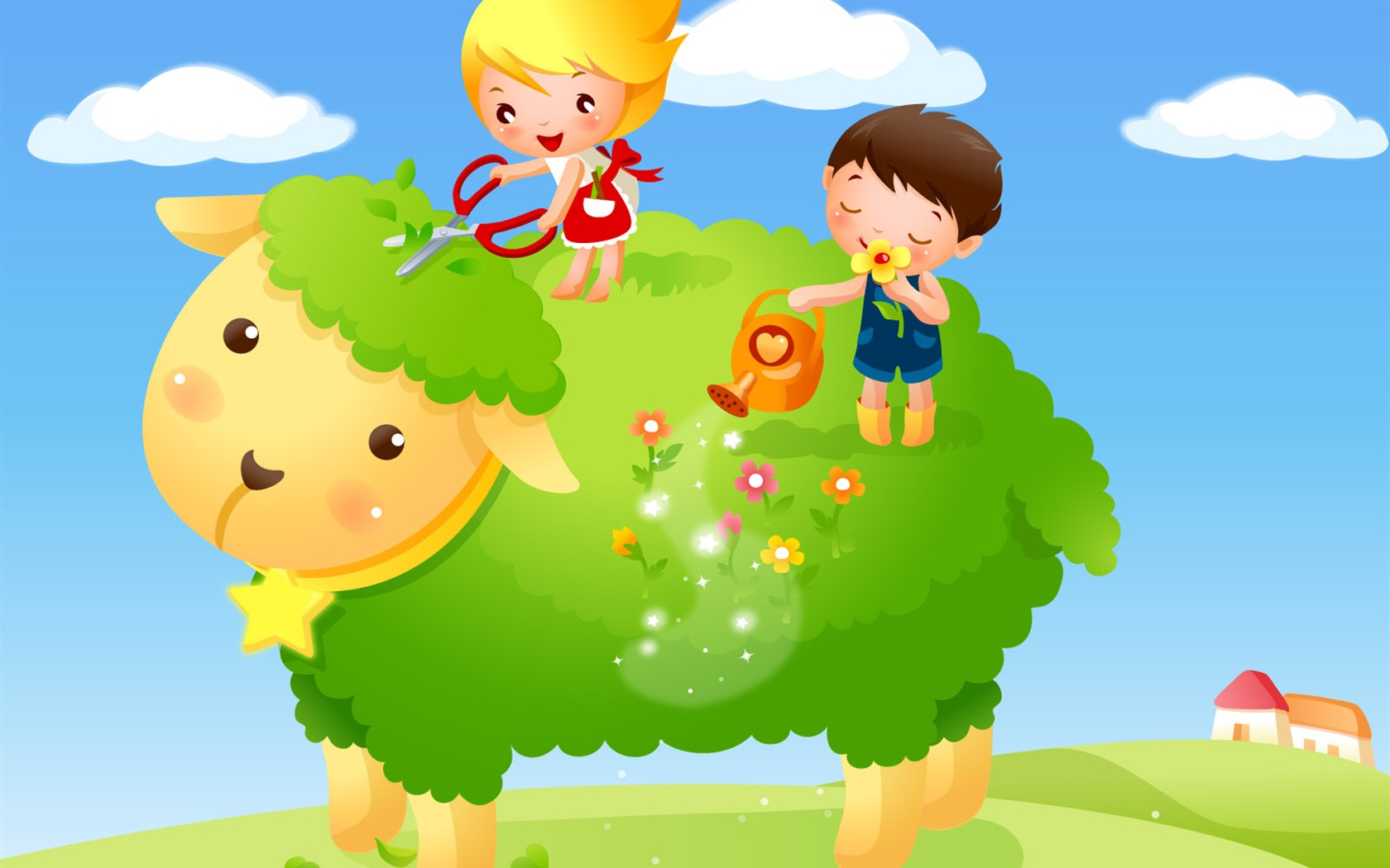 Childhood Dreams Alba Kreslene Tapety 7 1680x1050 Wallpaper Ke