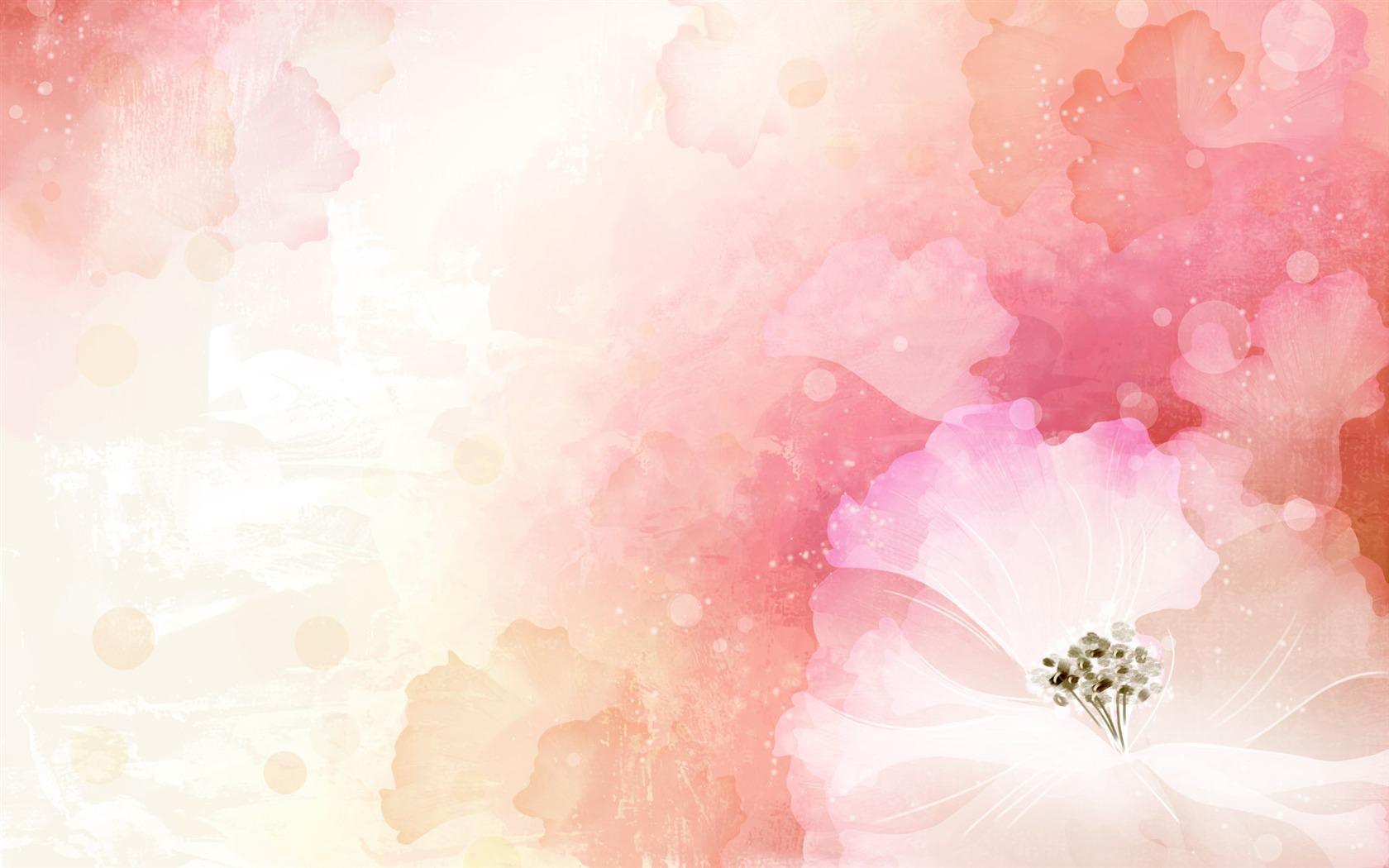 ... Wallpaper Bunte Blumen - Design Hintergrundbilder - V3 Wallpaper Site