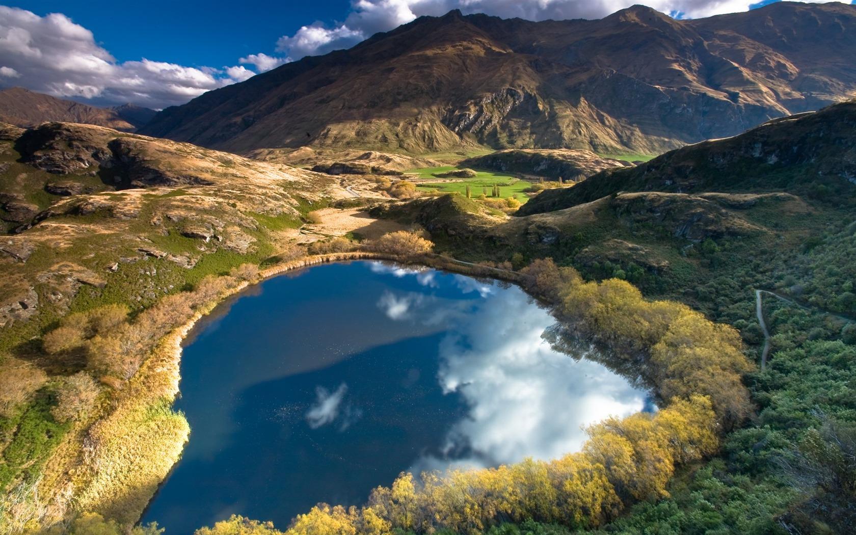 Souvent Nouvelle-Zélande papier peint paysage pittoresque #12 - 1680x1050  IA95