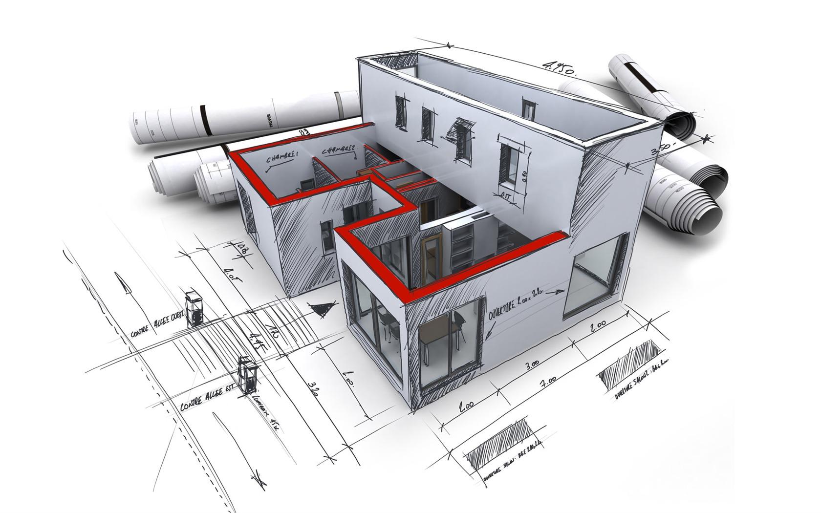 3D Architectural Design Wallpaper (1) #19 - 1680x1050.