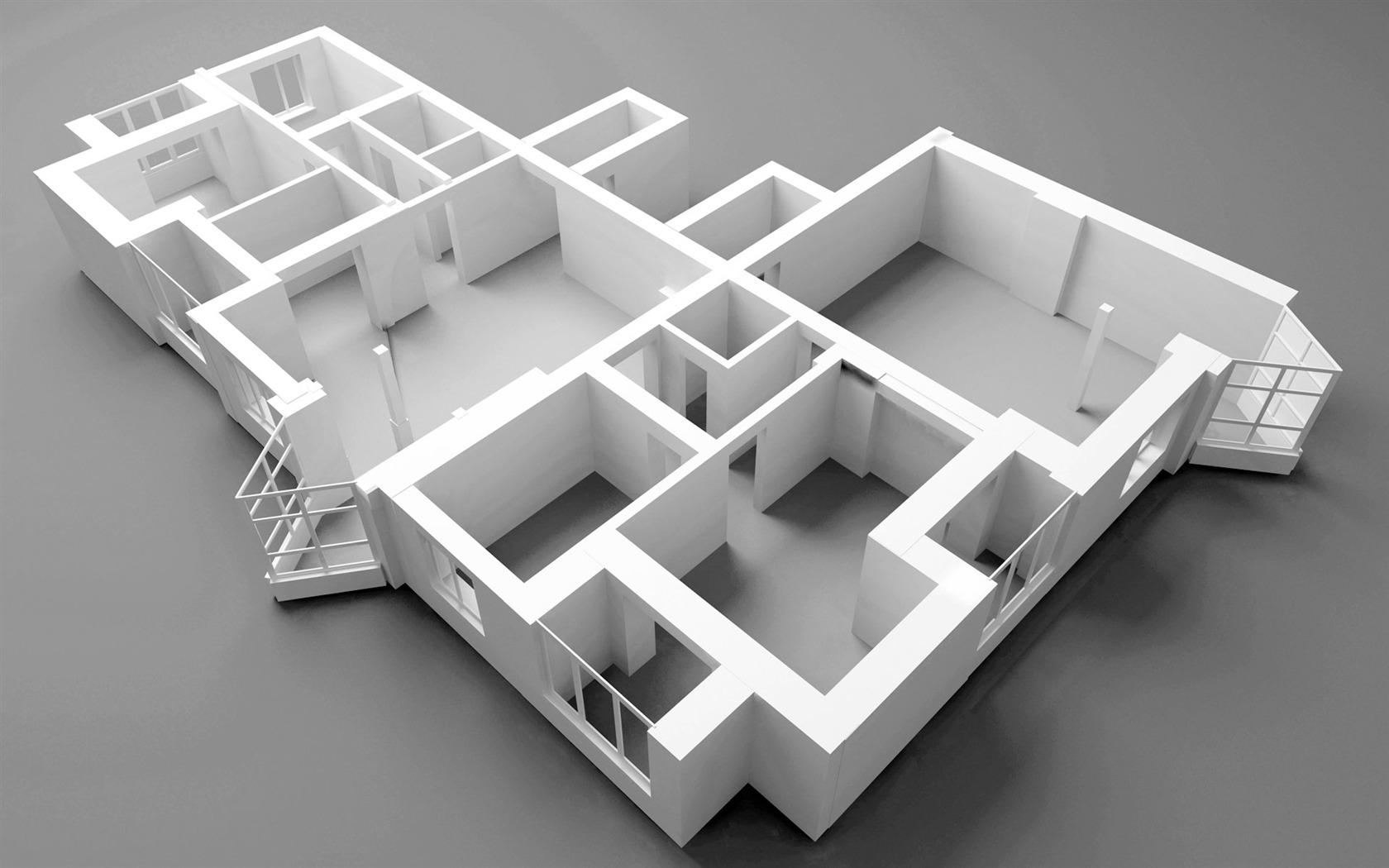 Fondo De Pantalla 3d Dise O Arquitect Nico 2 11