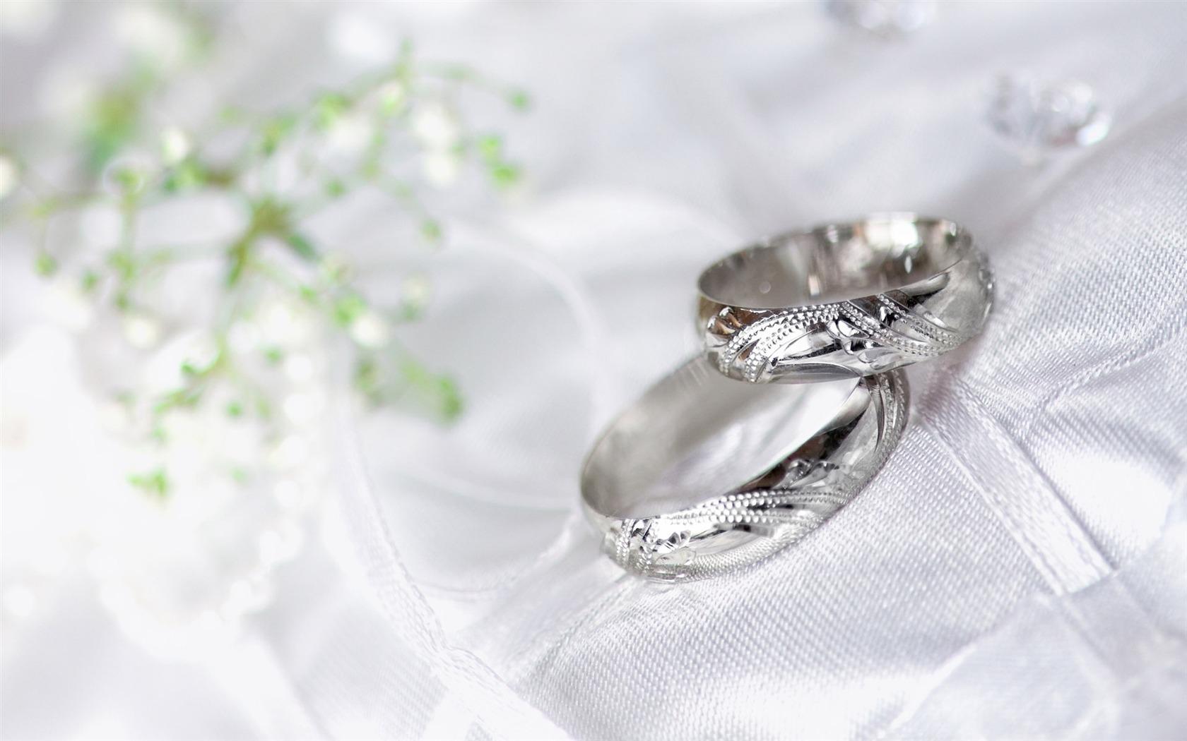 결혼식과 결혼 반지의 벽지 (1) #20