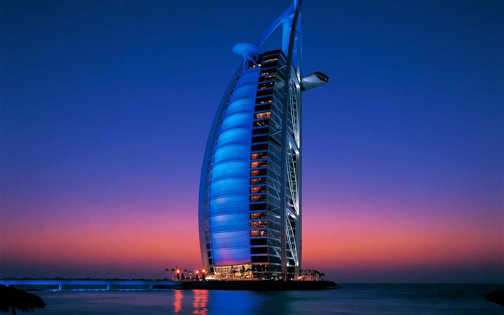 Sept étoiles hôtel Burj Dubai fonds d'écran #5 - 1680x1050 ...