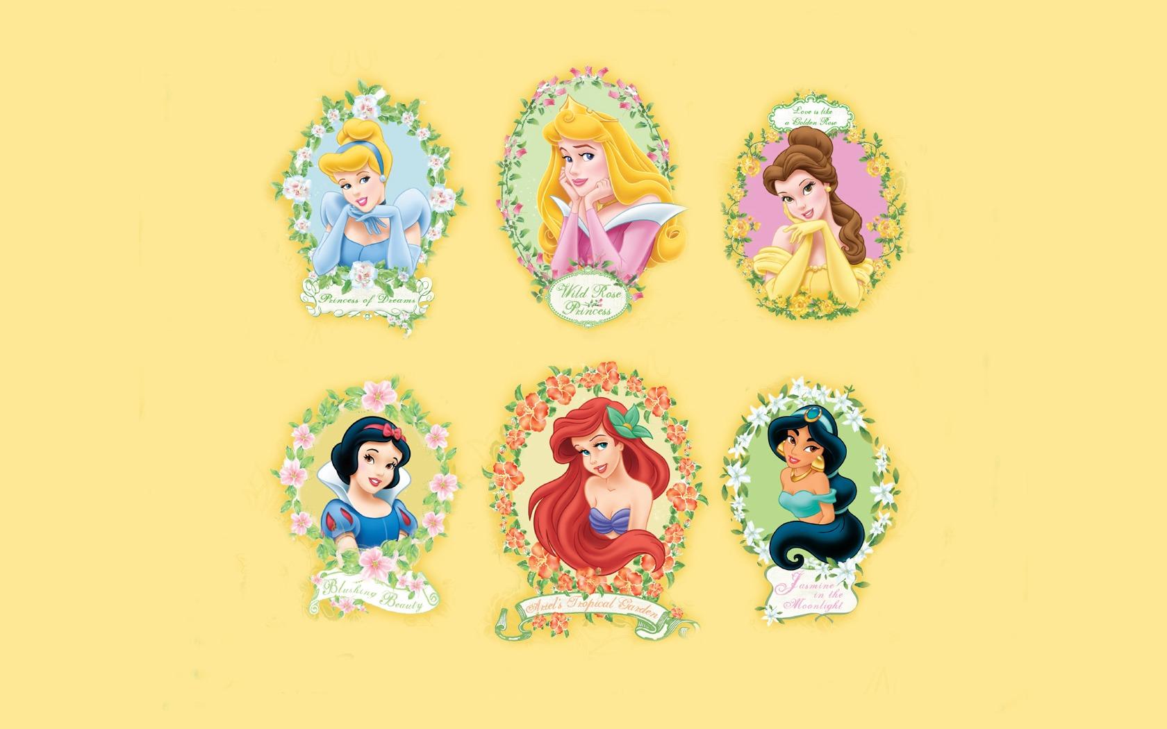 迪斯尼卡通明星 公主 壁纸(四)17 - 1680x1050