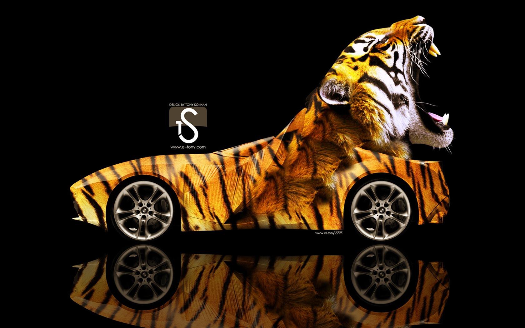 梦幻创意汽车设计壁纸,动物汽车20 - 1680x1050图片