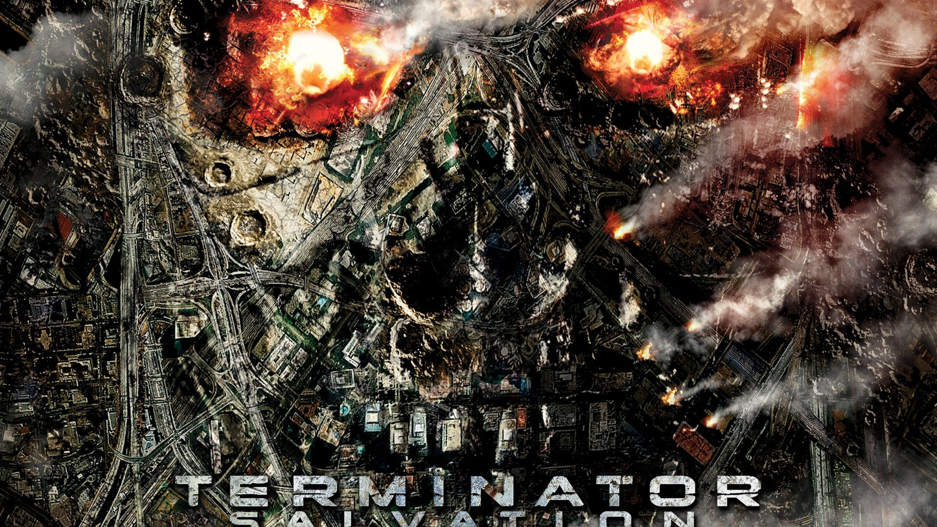 terminator salvation desktop wallpaper